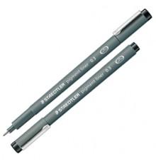 Pennarello Pigment Liner 308 nero 0,6mm Staedtler