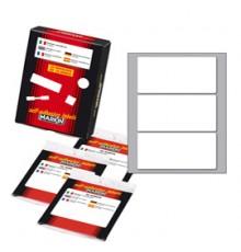Etichetta adesiva C/501 bianca 100fg A4 105x36mm (16et/fg) Markin