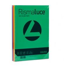 Carta RISMALUCE 140gr A4 200fg rosso scarlatto 61 FAVINI