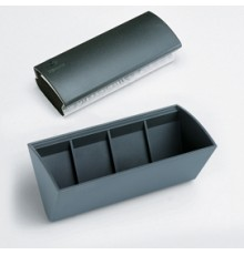 Notebook Pocket f.to 144x105mm a righe 56 pag. nero similpelle Filofax
