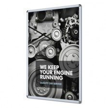 Notebook f.to A5 a righe 56 pag. blu similpelle Filofax